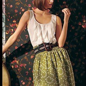 Anthropologie corey lynn calter Skirt Polka Dot M